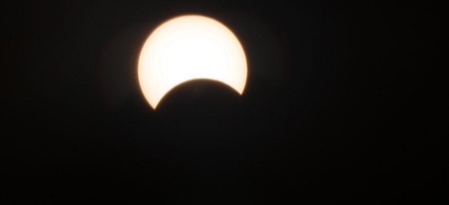 यस्तो देखियो खण्डग्रास सूर्य ग्रहण